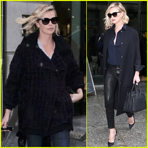 Charlize Theron Stylishly Steps Out in NYC