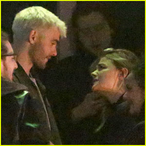 Chloe Moretz Hangs Out With '5th Wave' Co-Star Alex Roe