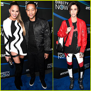 Chrissy Teigen & John Legend Get Ready for Taylor Swift's Concert at DirecTV Now Super Saturday Night