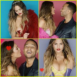 John Legend & Chrissy Teigen Made the Best Valentine's Day Video