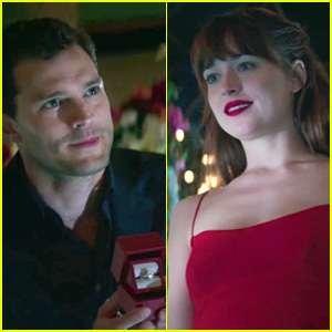 christian proposes to anastasia in new fifty shades video christian proposes to anastasia in new fifty shades video