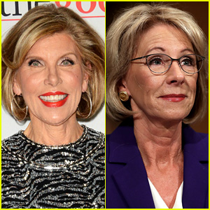 Christine Baranski Wants to Play Betsy DeVos on 'SNL'