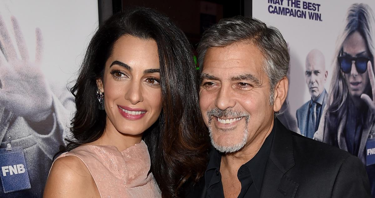 George & Amal Clooney's Twins: Boys or Girls? - George Clooney news