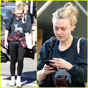 Dakota Fanning Steps Out After Landing TNT Series 'The Alienist'