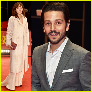 Diego Luna Makes Gesture Of Peace & Unity At Berlin Film Fest!