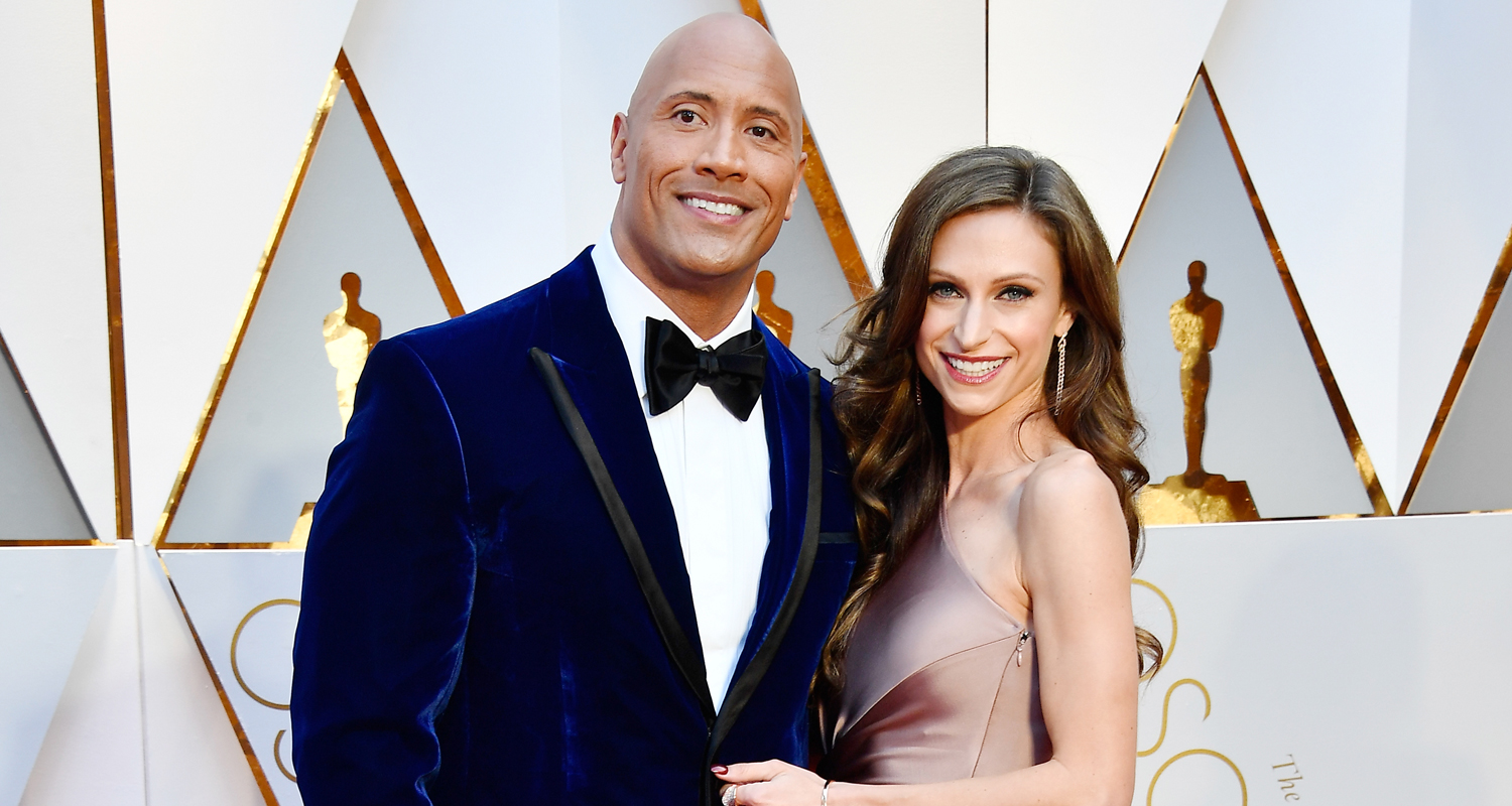 Dwayne johnson wife lauren hashian hit the red carpet at oscars dwayne johnson wife lauren hashian hit the red carpet at oscars 2017 2017 oscars dwayne johnson lauren hashian oscars just jared m4hsunfo