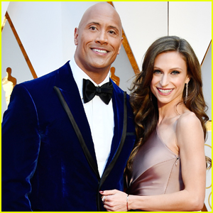 Dwayne Johnson & Wife Lauren Hashian Hit the Red Carpet at Oscars 2017