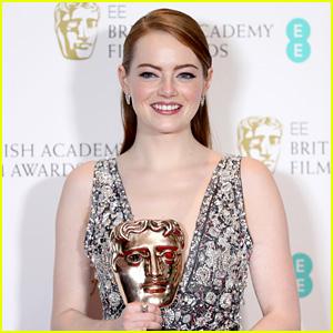 Emma Stone Wins Best Actress for 'La La Land' at BAFTAs 2017