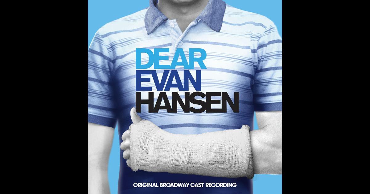 Dear Evan Hansen Cast 2018 >> 'Dear Evan Hansen' Broadway Album – Listen & Download!   Ben Platt, Broadway, Dear Evan Hansen ...