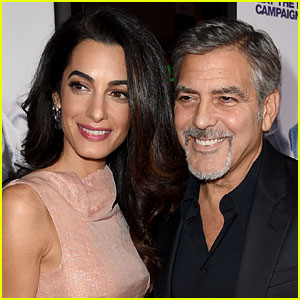 George Clooney Is 'Nervous' & 'Excited' to Welcome Twins with Wife Amal!