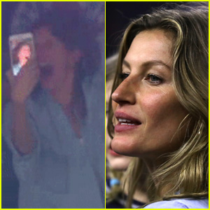 Gisele Bundchen Drops Phone While Celebrating Super Bowl Win - Watch Now!