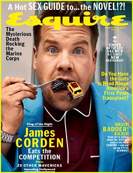 James Corden Speaks to Rumors He's Taking Over Stephen Colbert's Late Night Timeslot