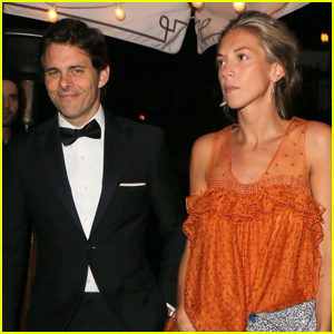James Marsden & Girlfriend Edei Hit Up Oscars After Party!
