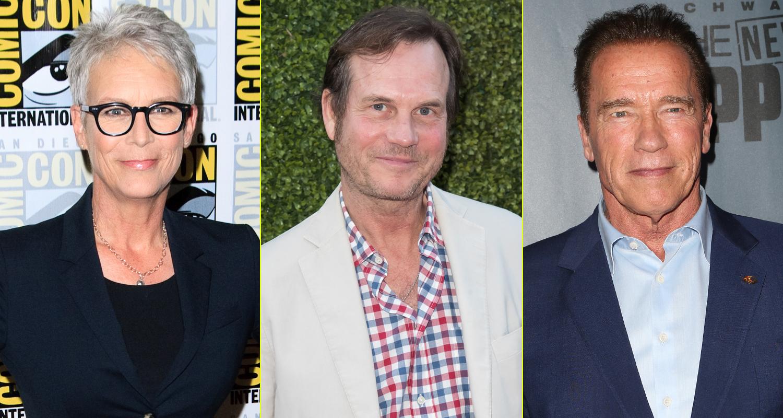 Stupendous Bill Paxtons True Lies Co Stars Arnold Schwarzenegger Jamie Hairstyles For Women Draintrainus
