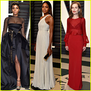 Janelle Monae & Naomie Harris Celebrate 'Moonlight' Win at Vanity Fair Oscars Party 2017!
