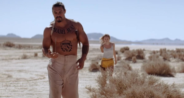 Jason Momoa Goes Shirtless In The Bad Batch Trailer Watch Now Jason Momoa Movies Suki
