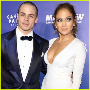 Jennifer Lopez Runs Into Casper Smart at Mutual Friend's Party