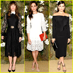 Jessica Biel & More Look So Chic for Ralph Lauren Show!