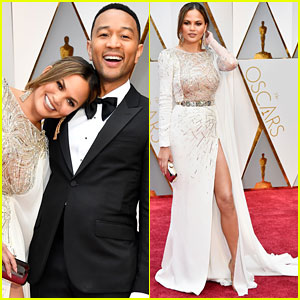 John Legend & Chrissy Teigen Are So Perfect on Oscars 2017 Red Carpet!
