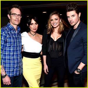 Josh Henderson & Michael Vartan Celebrate Their Upcoming Series 'The Arrangement'