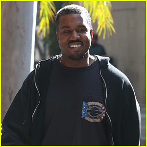 Kanye West is All Smiles Heading to the Gym