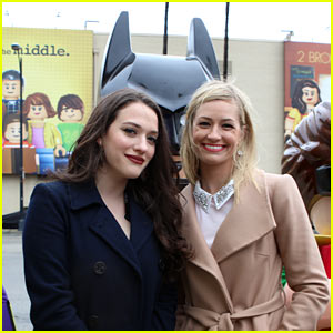 2 Broke Girls' Kat Dennings & Beth Behrs Get Lego Treatment - See All the Celeb Billboards