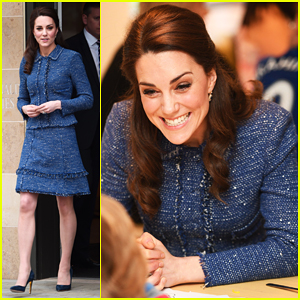 Kate Middleton Helps Open New Housing Facility At Evelina London Children's Hospital!