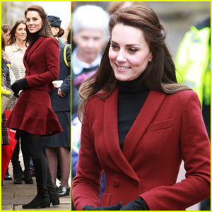 Kate Middleton Travels To South Wales In Support Of Vulnerable Families!