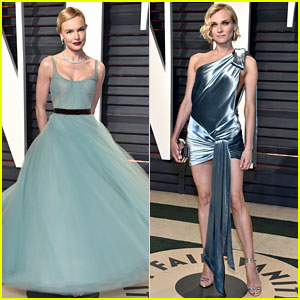 Kate Bosworth & Diane Kruger Channel Vintage Hollywood for Vanity Fair Oscars Party 2017