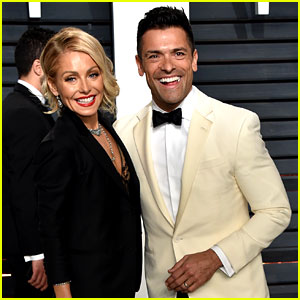 Kelly Ripa & Mark Consuelos Are All Smiles at Oscars After Party 2017!