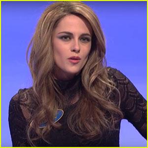 Kristen Stewart Impersonates Tom Brady's Wife Gisele Bundchen on 'SNL' Ahead of Super Bowl 2017 - Watch Now!