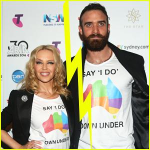 Kylie Minogue & Galavant's Joshua Sasse Split, End Engagement