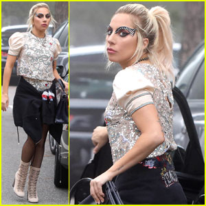 Lady Gaga Was Really Happy She Caught the Football at End of Her Super Bowl Performance