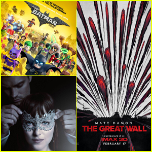 'Lego Batman' & 'Fifty Shades' Beat 'The Great Wall' at President's Day Weekend Box Office