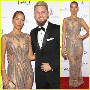 Leona Lewis & Boyfriend Dennis Jauch Show Off Love At Weinstein Company's Oscars Party!