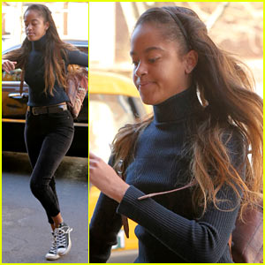 Malia Obama Gets Back to Her Internship Work After Aspen Vacation