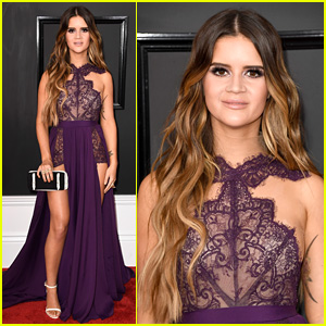 Maren Morris Shows Some Leg on Grammys 2017 Red Carpet