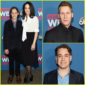 Mary-Louise Parker Brings Son William To 'When We Rise' NYC Premiere!