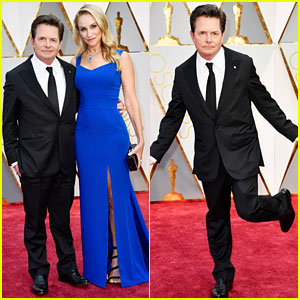 Michael J. Fox Looks Amazing on the Oscars 2017 Red Carpet