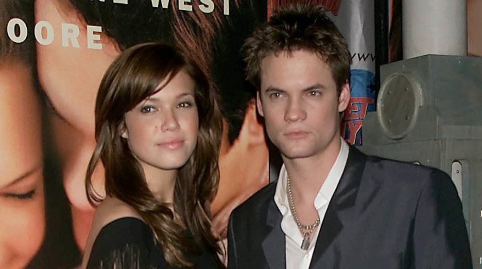 Mandy Moore Shane West Reunite 15 Years After A Walk To Remember Adam Shankman Mandy Moore Shane West Just Jared