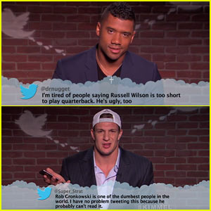 NFL Players Read Mean Tweets on 'Kimmel' - Watch Now!