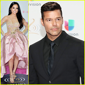 Ricky Martin Reveals First Celebrity Male Crush Was John Travolta!