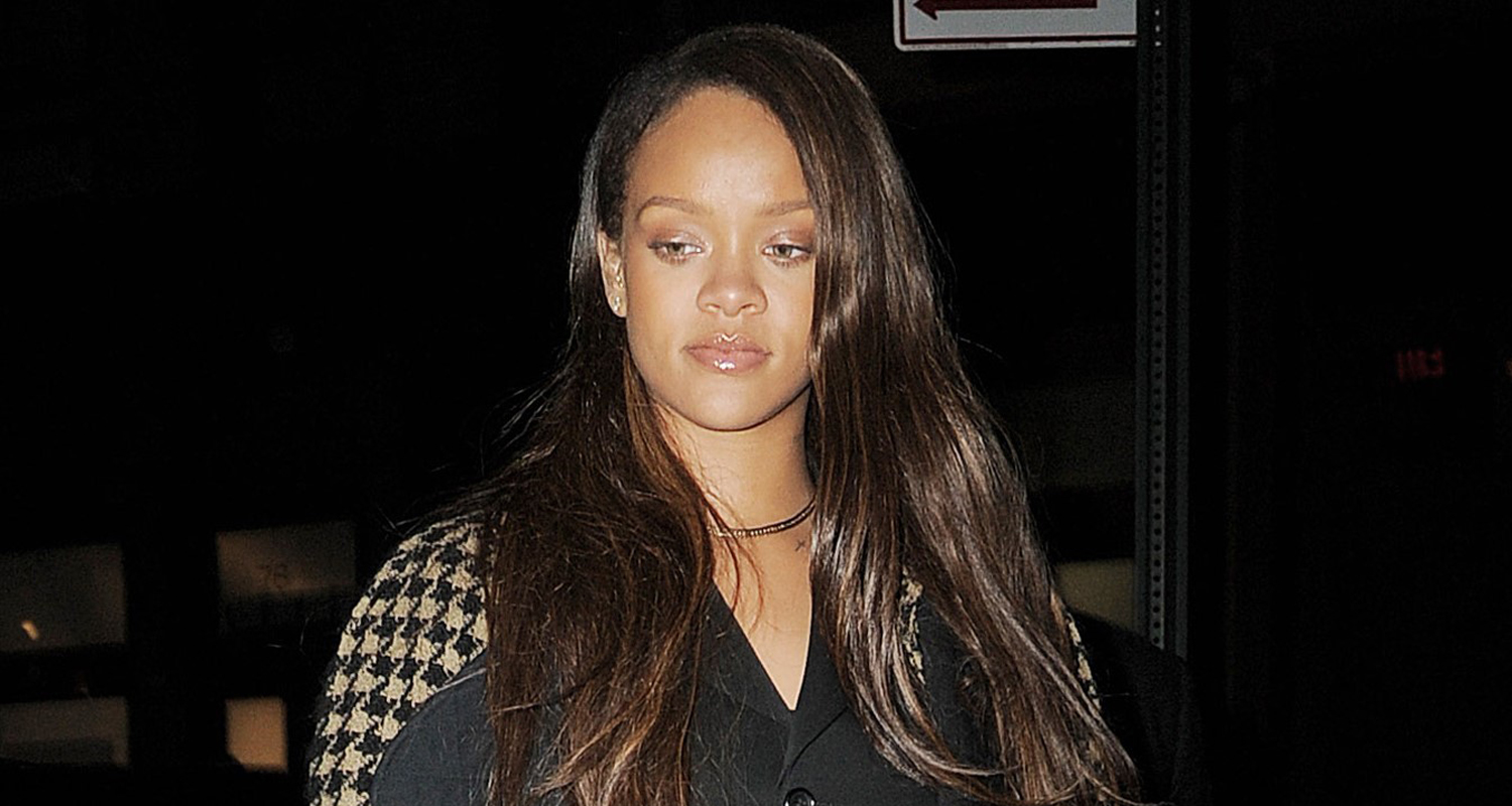 Rihanna Steps Out After Releasing New Song 'Selfish ... Rihanna Songs