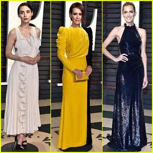 Rooney Mara, Sarah Paulson, & Allison Williams Glam Up for Oscars Party 2017!