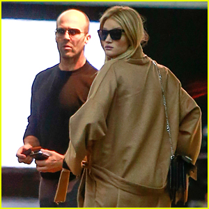Rosie Huntington-Whiteley & Jason Statham Step Out for Lunch Date!