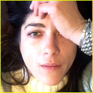 Selma Blair Tears Up After Driving Away with Gas Pump in Nozzle, Gives Update on Her Bad Day