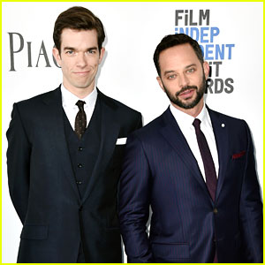 Spirit Awards Hosts Nick Kroll & John Mulaney Hit the Blue Carpet!