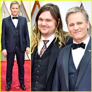 Viggo Mortensen Bring Son Henry to Oscars 2017!