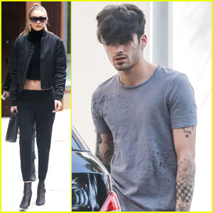 Zayn Malik & Gigi Hadid Keep Busy on Separate Coasts
