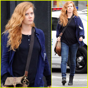 Amy Adams Gets to Work Filming 'Sharp Objects' in L.A.